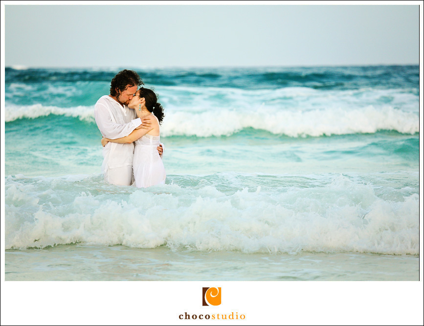Trash The Dress session in Mexico