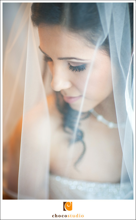 Maira, bride portrait in veil