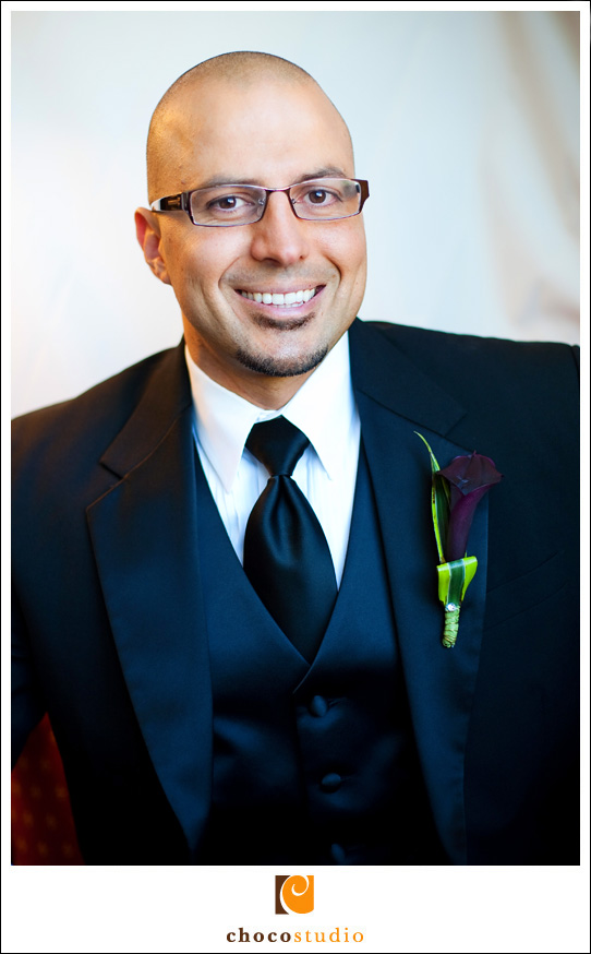 Aref, groom, portrait