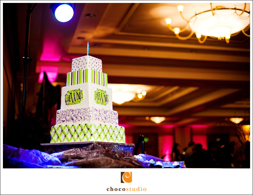 Cake at Fremont Marriott