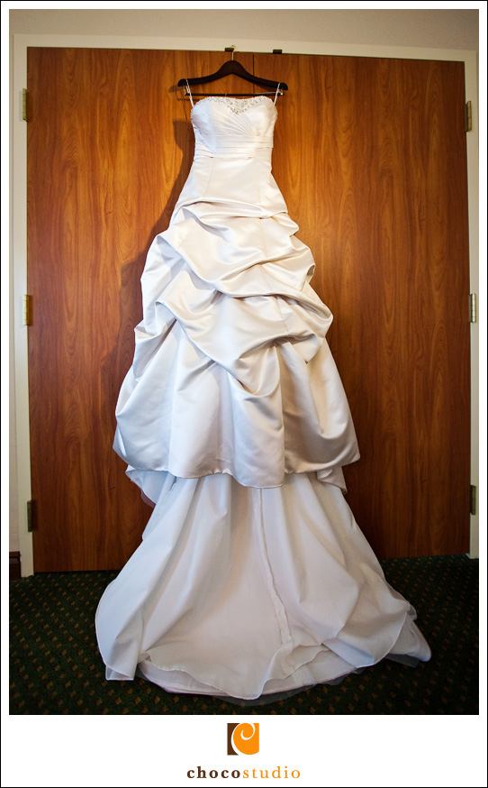 Wedding Dress in full
