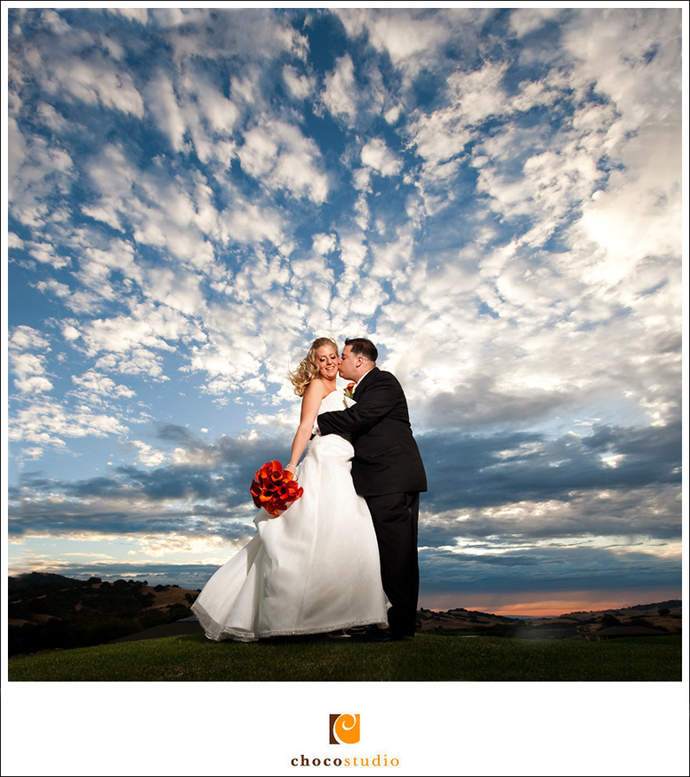 Cinnabar Hills Wedding Photo Bride and Groom Portrait