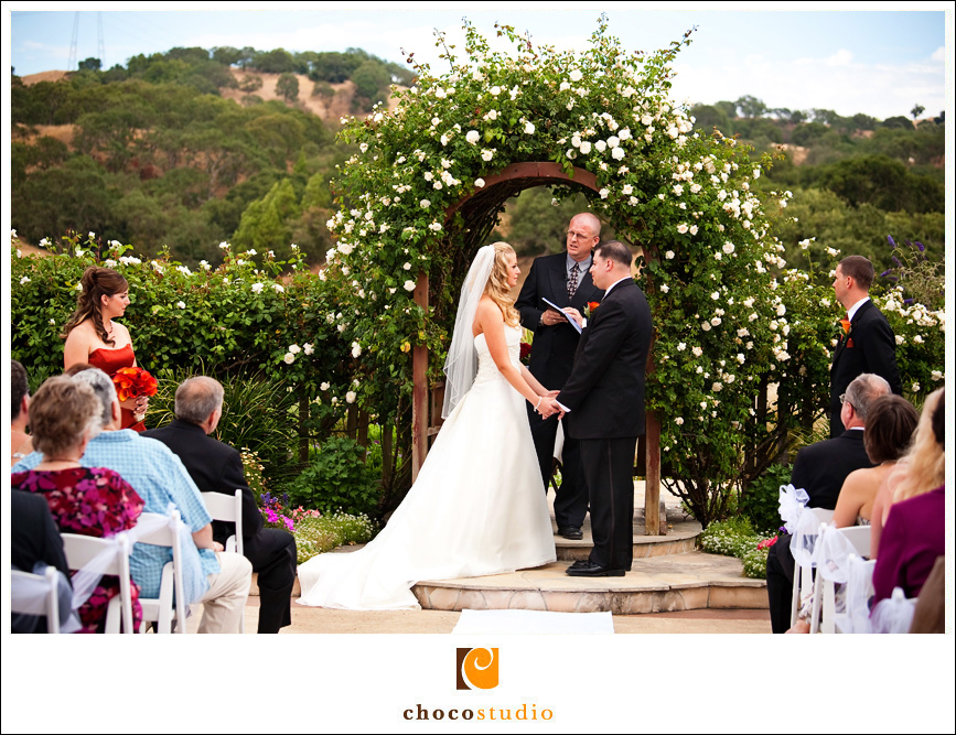 Cinnabar Hills Golf Club Outdoor Ceremony Photo
