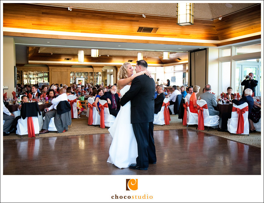 First Dance by Gina and Jason at Cinnabar Hills Golf Club