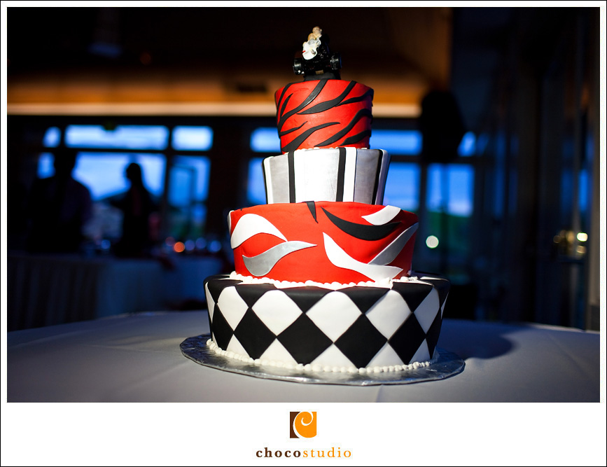Creative Cake at Cinnabar Hills Reception