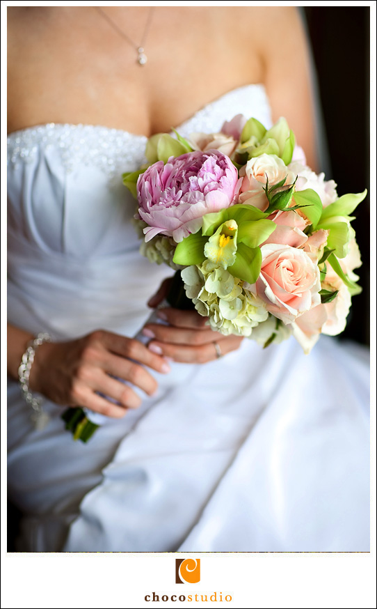 San Francisco City Hall Wedding Bouquet