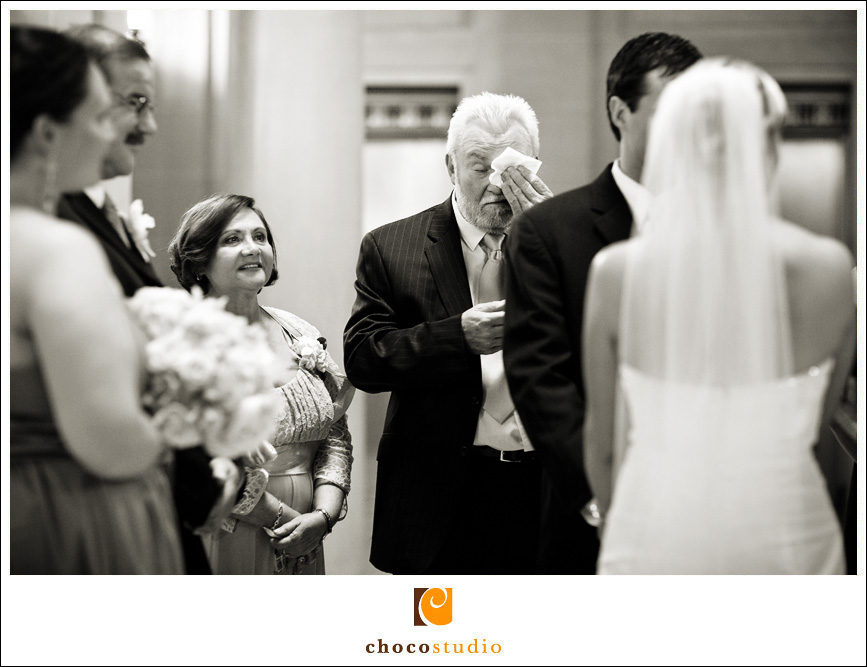 San Francisco City Hall Wedding: Julie and Brian