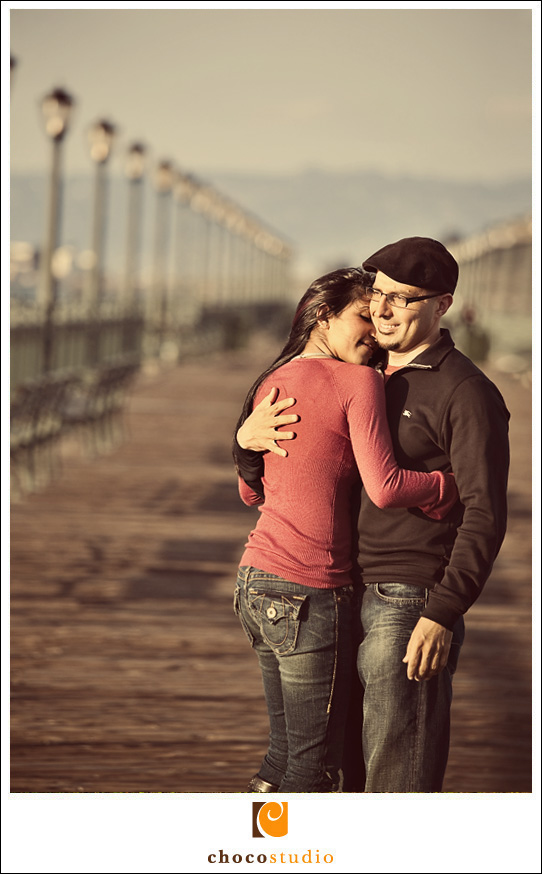 Picture of a couple in love