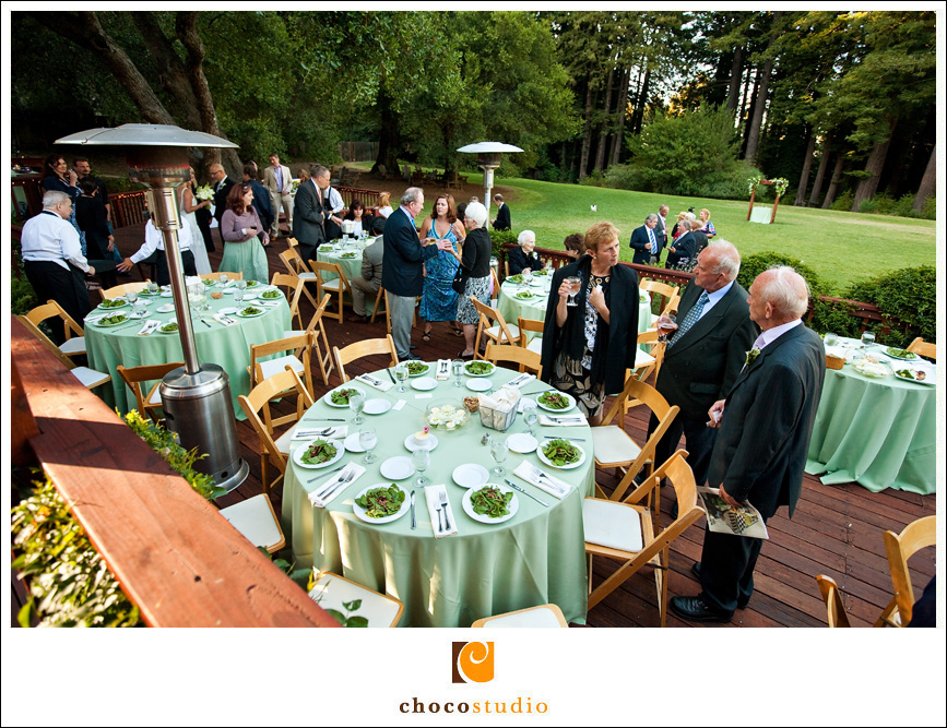 Reception at the Mountain Terrace