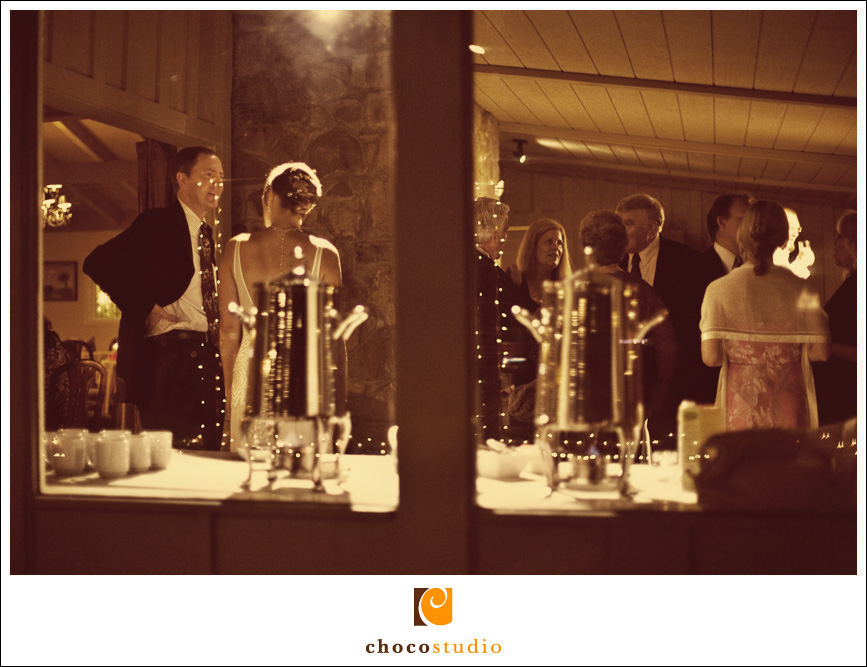 Photo of a wedding reception