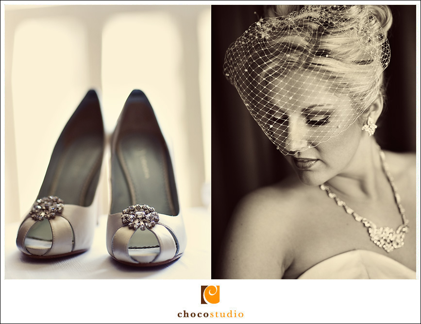 Bride and Her Shoes