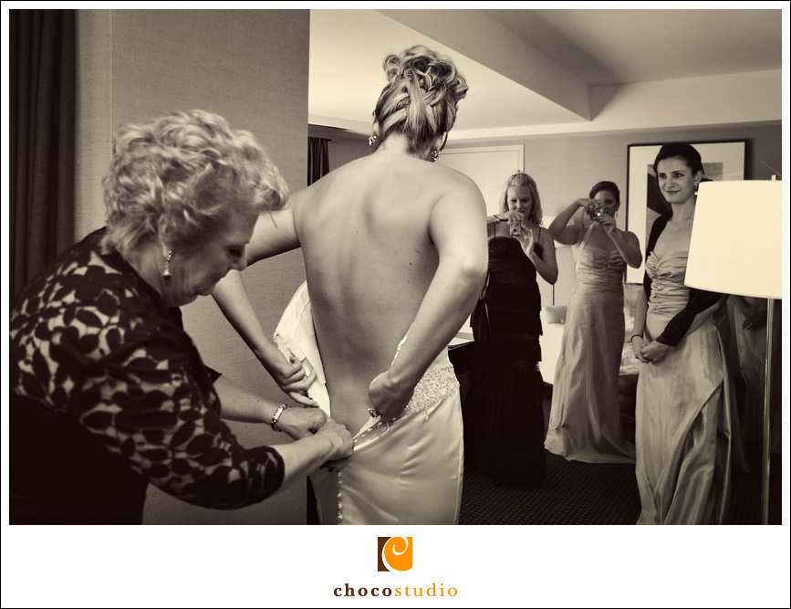 Bride Getting Ready, Wedding Preparations