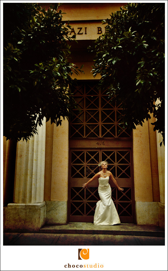 Bridal Portrait Downtown SF