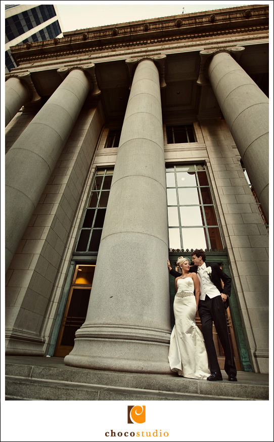 Wedding Photo Outside Bently Reserve