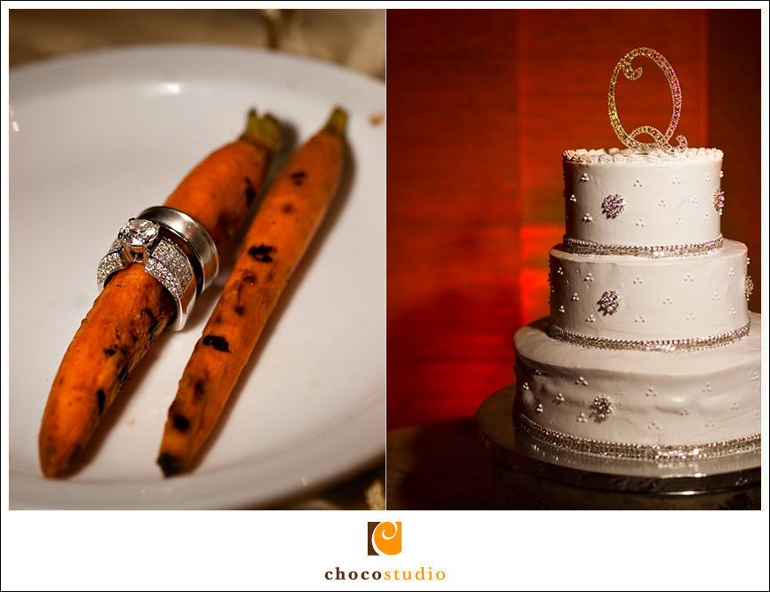 Creating Ring Photo and Cake