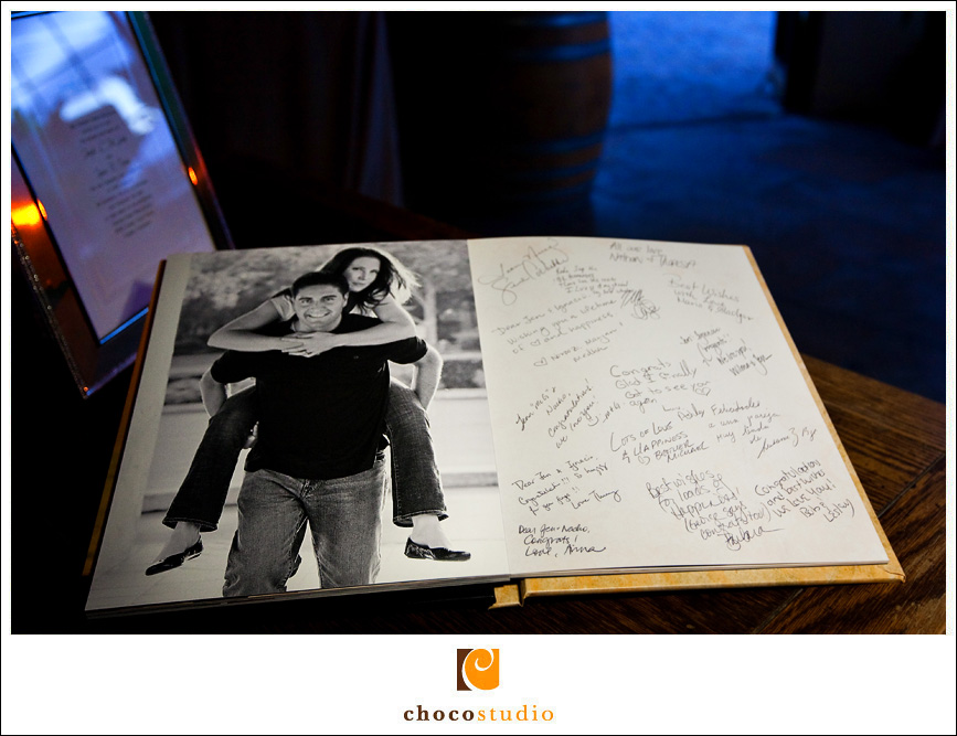 Engagement Session Guestbook