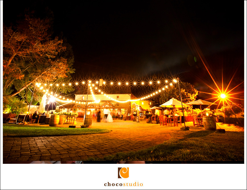 Ambience at the outdoors wedding venue