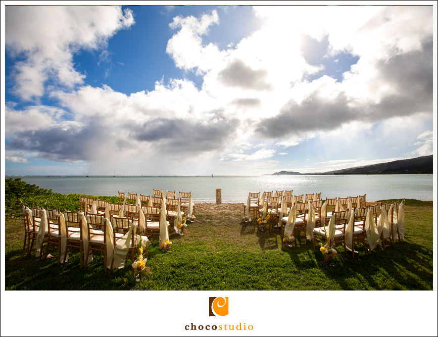 Ceremony Location at a private Villa