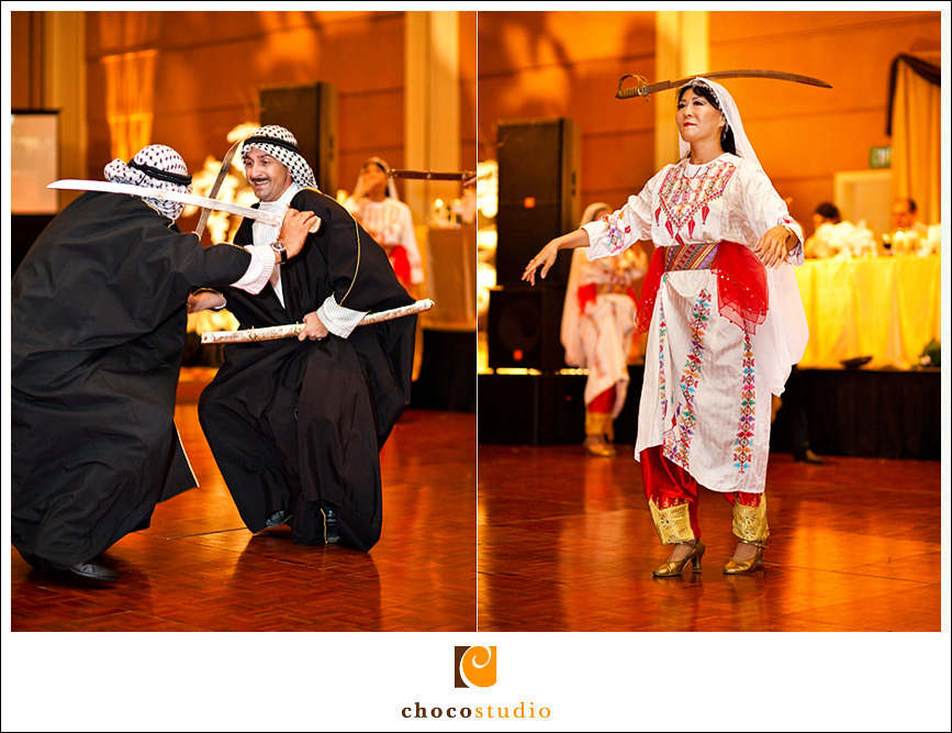 Cultural performances at Hyatt