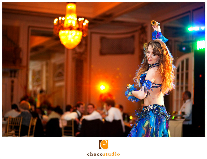 Belly Dancer Performance at Wedding