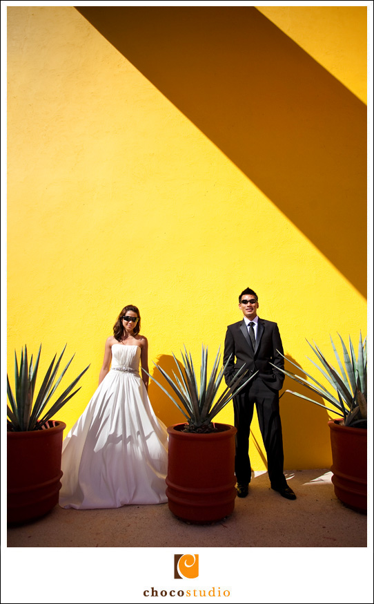 Bride and Groom's Destination Wedding in Mexico