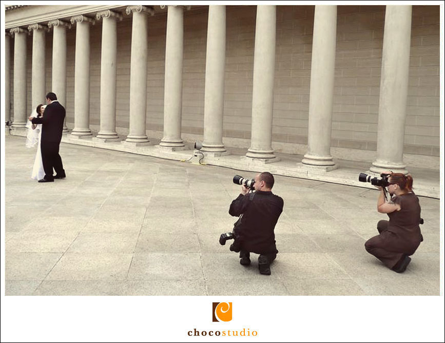 Shooting at Legion of Honor