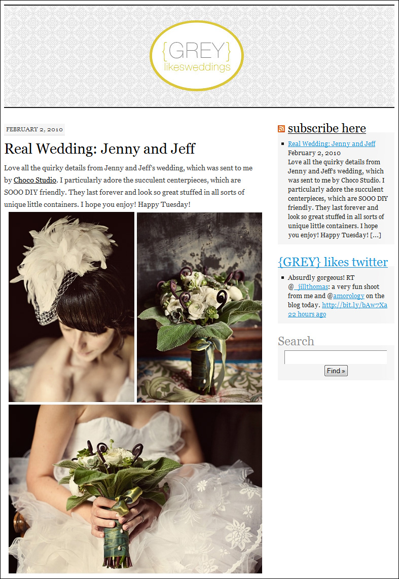 choco studio featured on greylikesweddings