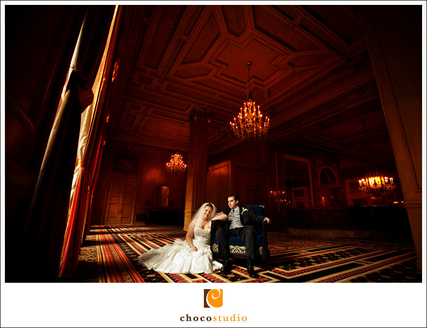 Mark Hopkins Hotel Wedding Photo
