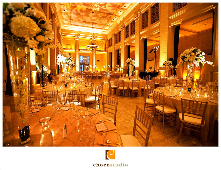 Bently reserve reception decor