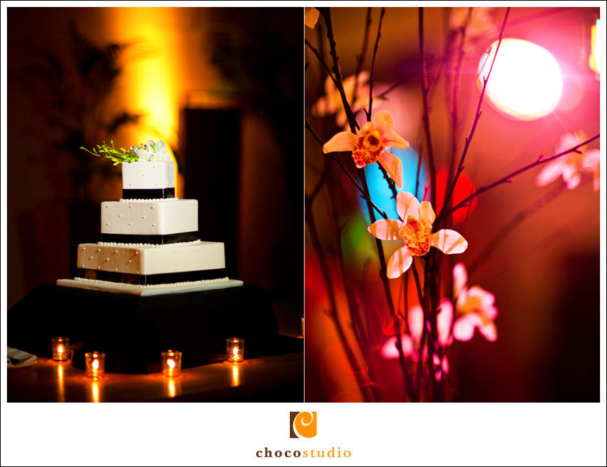 Wedding reception Palm Event Center