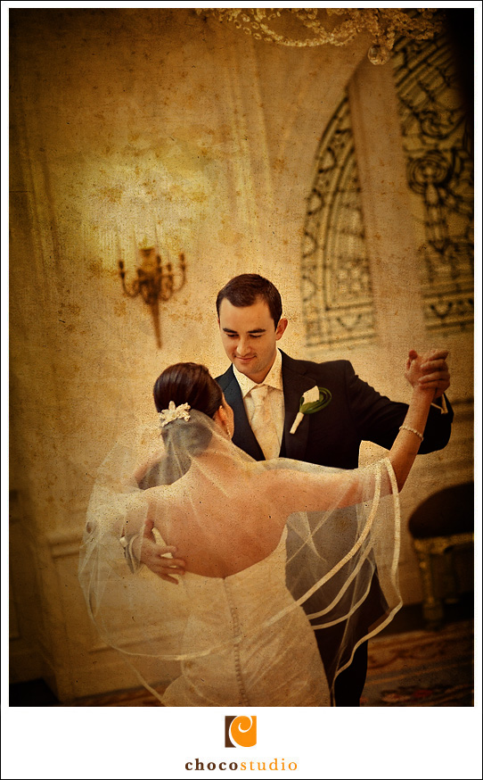 Palace Hotel Wedding Photo