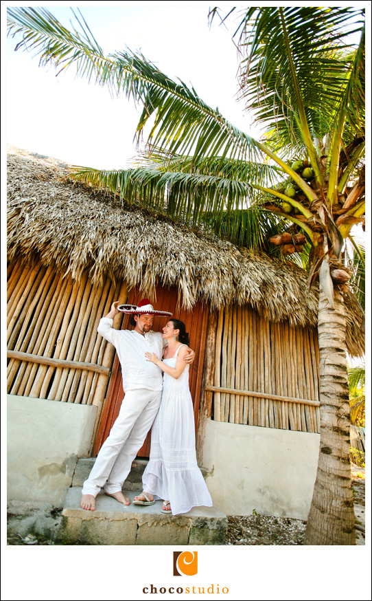 Destination Wedding Portrait in Mexico