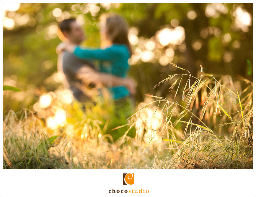 Engagement session in the park