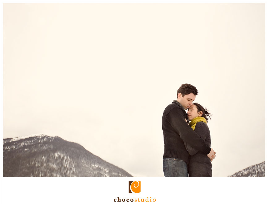 Tahoe engagement photo