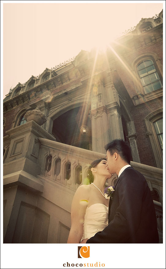 UC Berkeley Campus Wedding Photo