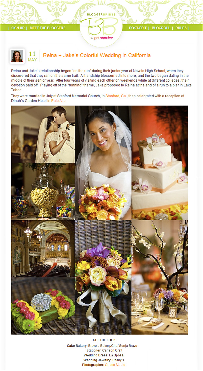 Stanford Univercity wedding featured