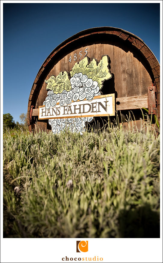 Hans Fahden Calistoga Winery Barrel