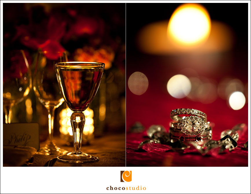 Wedding details at Hans Fahden Winery