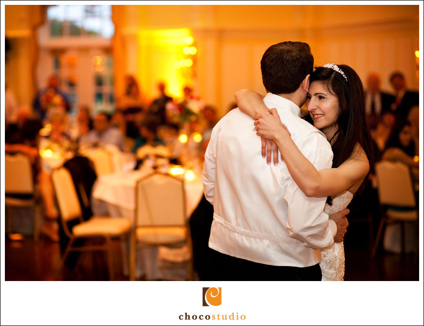 First Dance in Peninsula Golf Country Club