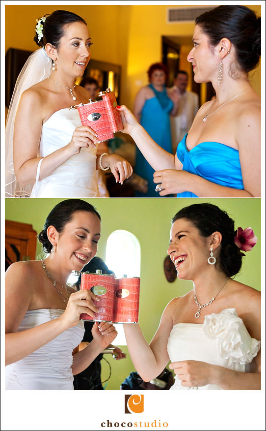Bride and her Bridesmaid in Mexico