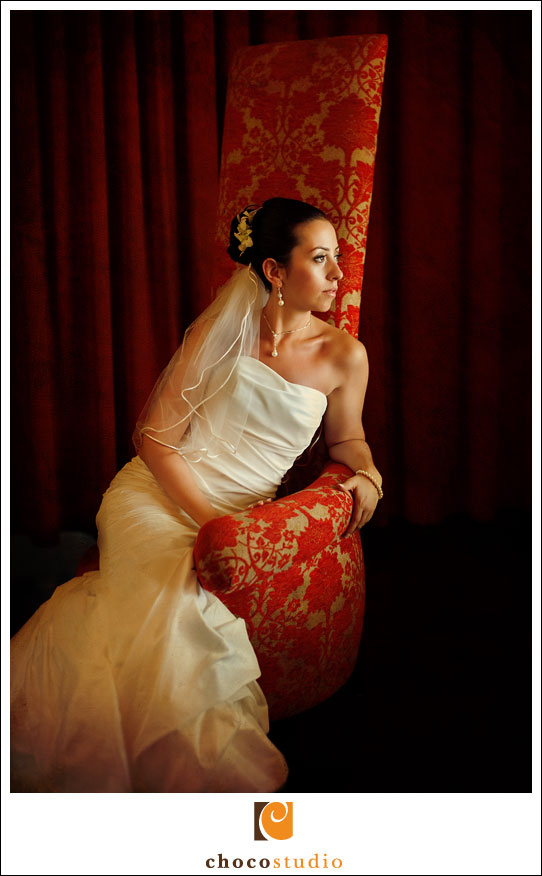 Bridal portrait in Riviera Maya