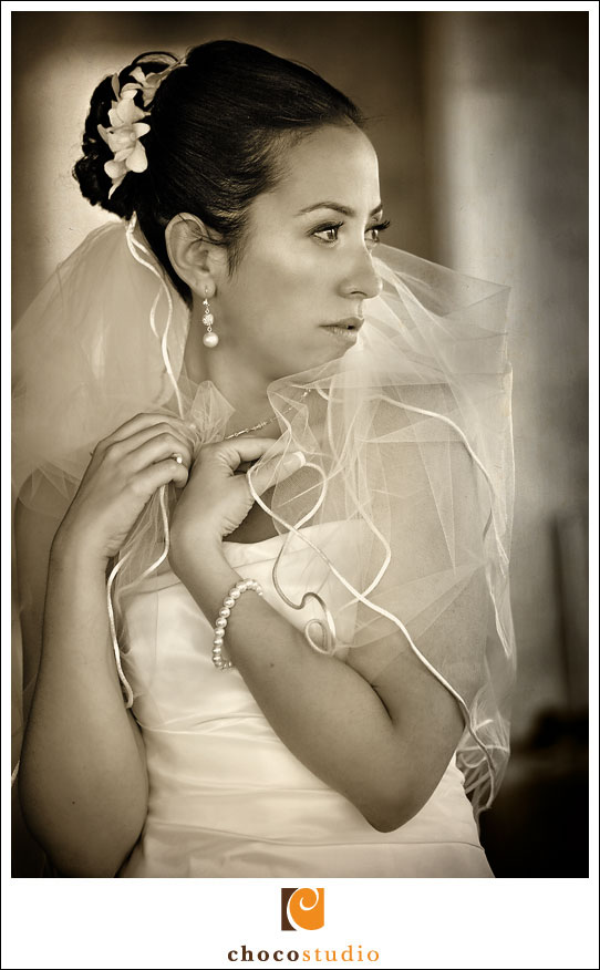 Picture of the bride in Barcelo Maya resort