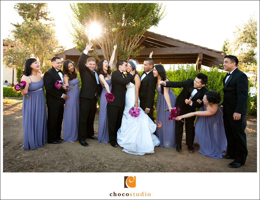 Guglielmo Winery Bridal Party