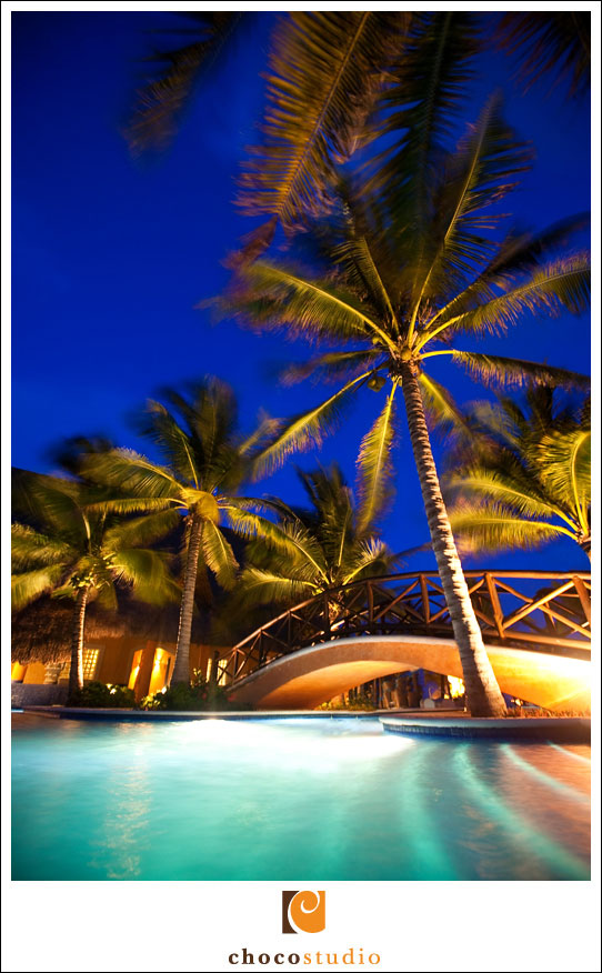 Photography of destination wedding in Barcelo Maya resort
