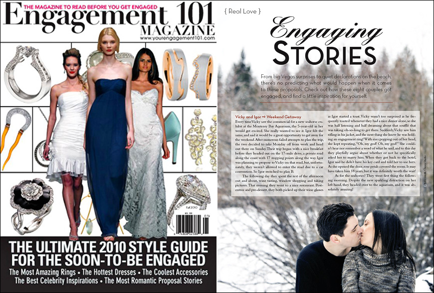 Engagement 101 Magazine - Engaging Stories
