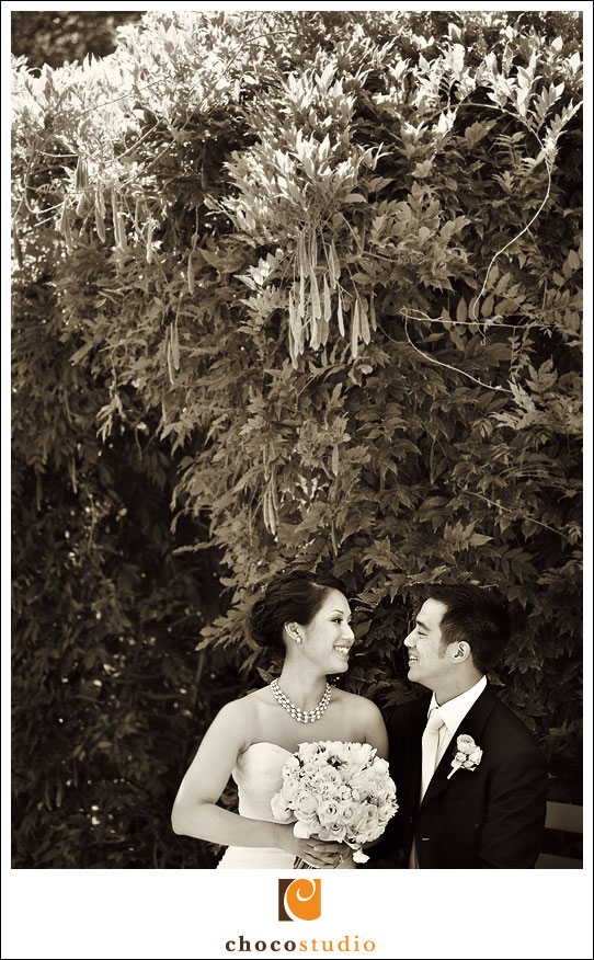 Kohl Mansion romantic wedding portrait