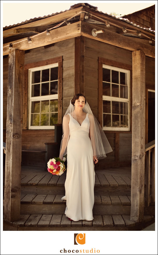 Photo of Bride at Radonich Ranch in Los Gatos