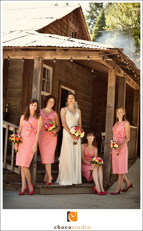 Laura and Bridesmaids