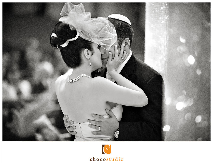 Temple Emanu-El Ceremony Kiss