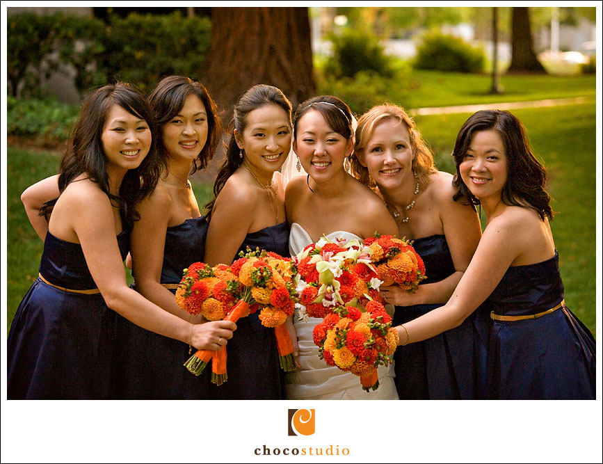 Freedom Hall and Gardens Bridal Party